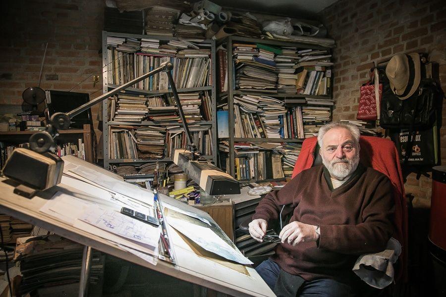 50 anos de carreira do desenhista Edgar Vasques